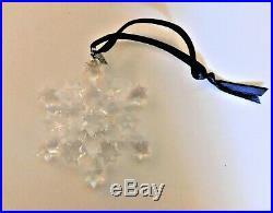 2004 Swarovski Star Rockefeller Center Crystal Christmas Ornament
