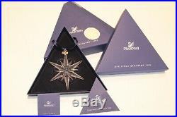 2005 Swarovski Star Crystal Christmas Ornament Rockefeller Center 680502