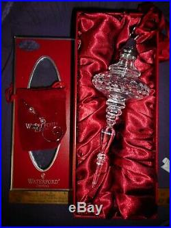 2006 Waterford Crystal KINSALE Christmas Spire Ornament with Hook