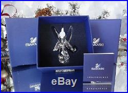 2008 Mib Swarovski Crystal Annual Angel Christmas Ornament #939734