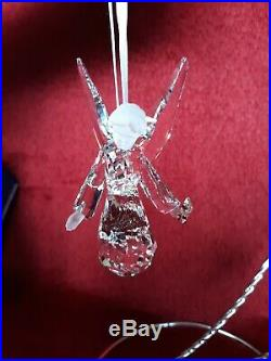 2008 Swarovski Crystal Annual Christmas Angel Ornament