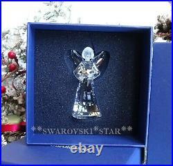 2009 Mib Swarovski Crystal Annual Angel Christmas Ornament #1006042