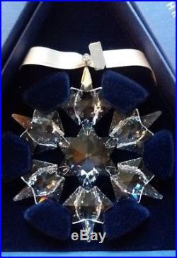 2010 Swarovski Annual Crystal Christmas ORNAMENT NEW MIB