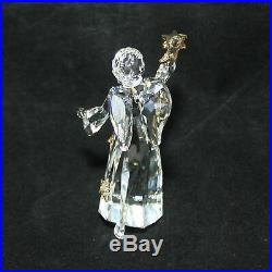 2010 Swarovski Crystal Annual Christmas Angel Ornament 1054562 AS IS CF01143