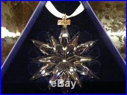2011 NEW Swarovski (20 Years) Crystal Christmas Ornament with certificate