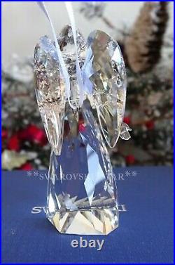 2011 Nib Swarovski Crystal Annual Angel Christmas Ornament #1096032