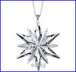 2011 SWAROVSKILittle/Small Crystal Snowflake Christmas Ornament #1092038 NIB