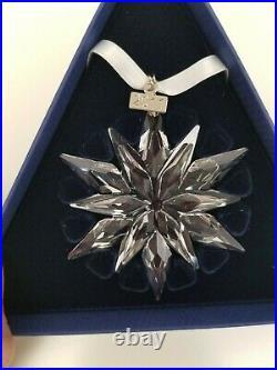 2011 Swarovski Crystal Annual Christmas Ornament 20 YEARS-NIB, MINT, Never Used