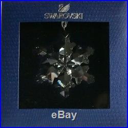 2012 SWAROVSKILittle/Small Crystal Snowflake Christmas Ornament #1139969 NIB