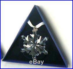 2012 Swarovski Crystal Christmas Ornament Star/Snowflake Austria BRAND NEW