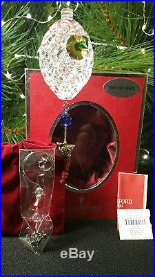 2012 Waterford Crystal 12 Days of Christmas 6 Geese-a-Laying Ornament Six Geese
