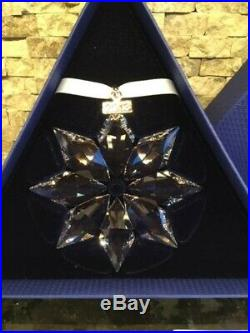 2013 NEW Swarovski Crystal Large Christmas Ornament withboth boxes & certificates