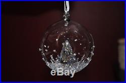 2013 SWAROVSKI #5004498 ANNUAL CHRISTMAS BALL ORNAMENT BNIB Crystal XMas Tree FS