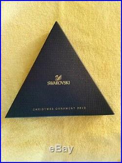 2013 SWAROVSKI CRYSTAL ANNUAL CHRISTMAS SNOWFLAKE ORNAMENT Large NIB