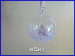 2013 Swarovski Crystal Annual Christmas Ball Ornament Tree Nib 5004498