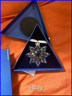 2013 Swarovski Crystal Christmas Ornament Star Snowflake
