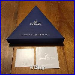 2013 Swarovski Crystal Snowflake Christmas Ornament with Box