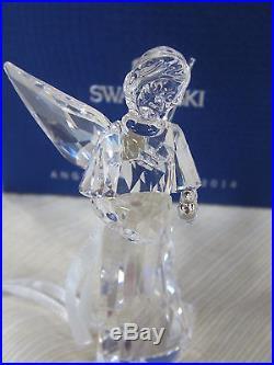 2014 Swarovski Annual Angel Ornament Bnib # 5047231 Crystal Christmas Ltd Ed F/s