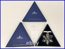 2014 Swarovski Crystal Annual Edition Christmas Ornament NIB, MINT, Never Used