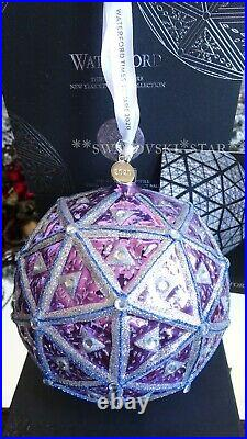 2019/2020 Nib Waterford Annual Times Square 7 Masterpiece Ball Ornament