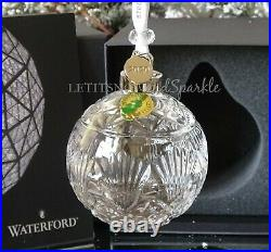 2019/2020 Nib Waterford Annual Times Square Ball Goodwill Ornament 40035496