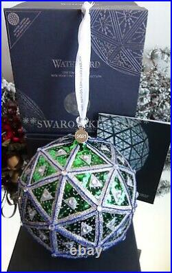 2020/2021 Nib Waterford Annual Times Square 7 Masterpiece Ball Ornament 1055463