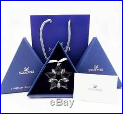 3Boxs 2019 Swarovski Crystal Annual Edition Christmas Ornament BIG Star 5427990