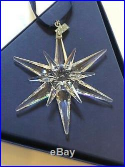 4 Annual Swarovski Crystal Christmas Ornaments-2005,2006,2007,2008