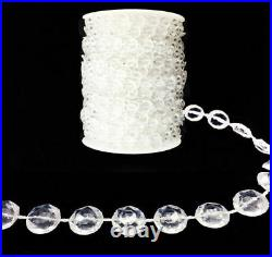 400/600/900 FT Garland Diamond Strand Acrylic Crystal Beaded Wedding Decoration
