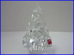 $420 Baccarat Crystal Noel Megeve Fir Christmas 5 Tree MINT IN BOX