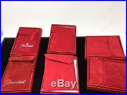6 Baccarat Annual Crystal Christmas Ornament 1984-1991-1993-1995-1996-1998