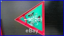 Austrian crystal Christmas ornament limited edition 1992