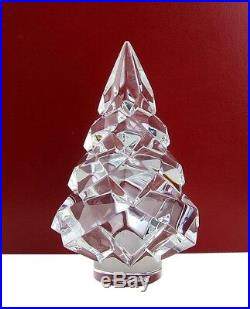 Baccarat Clear Christmas Fir Tree Noel Made In France 2809174 New No Box