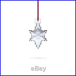 Baccarat Crystal 2017 Christmas Tree Ornament Brand New In Red Gift Box L@@K