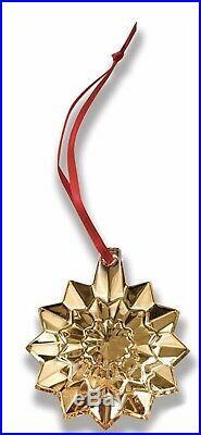 Baccarat Noel 2019 Ornaments Gold