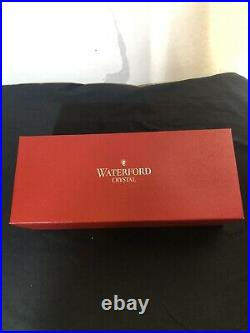 Beautiful Waterford Crystal CLARENDON Ruby RED Cased Xmas Tree Top Topper EUC