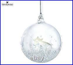 Bnib Swarovski Crystal Christmas Large Ball Ornament Ltd Annual Edition 2018