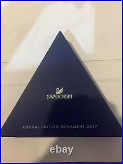 Bnib Swarovski Crystal Christmas Ornament Annual Edition Snowflake Star 2017