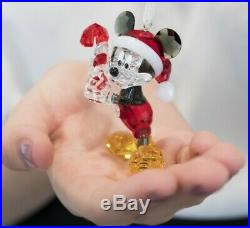 Brand new swarovski crystal mickey mouse christmas Collectable Ornament Rrp £200