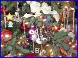 Christmas Glass Ornaments Decor 48 Crystal Ice Adorns Xmas Tree Icicles Wedding