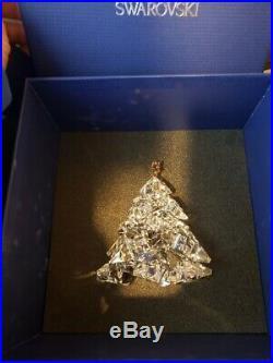 Christmas Tree Shining Star Xmas 2012 Retired Swarovski Crystal 1139998 In Box