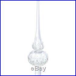 Christmas Tree Topper Holiday Elegant Clear 2017 Swarovski Crystal 5301303