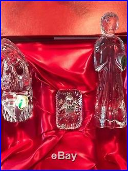 Christmas With Waterford Crystal Six Piece Nativity Set