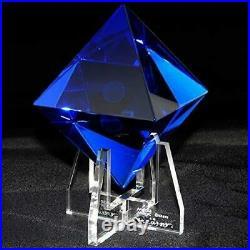 EVANGELION Crystal Glass Object 6th Angel Ramiel Apostle Media Magic