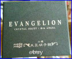 EVANGELION RAMIEL 6th Angel Apostle Taisho glass Crystal Object Nippon Very rare