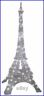 Eiffel Tower 7 Ft Sparkle Crystal Splendor Prop Gemmy Christmas Yard Decoration