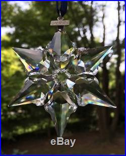 Estate 2000 SWAROVSKI Crystal Christmas Ornament LE with BOXES & Papers