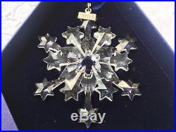 Estate 2004 SWAROVSKI Crystal Christmas Ornament LE Both Boxes & Papers