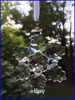 Estate Vintage 1996 SWAROVSKI Crystal Christmas Ornament Limited Edition BOX wow