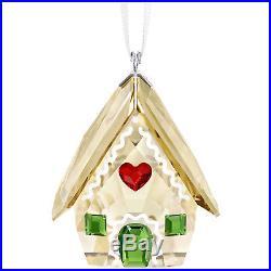 Gingerbread House Ornament 2018 Holiday Christmas Swarovski Crystal 5395977